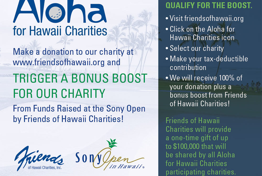 Aloha for Hawaii Charities Campaign