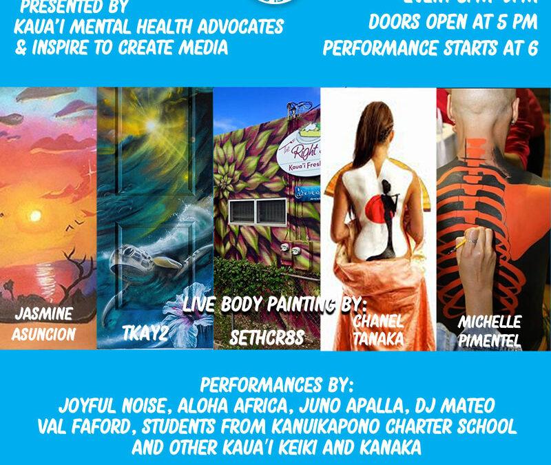 'O au kēia, a Healing Mental Health Art Show