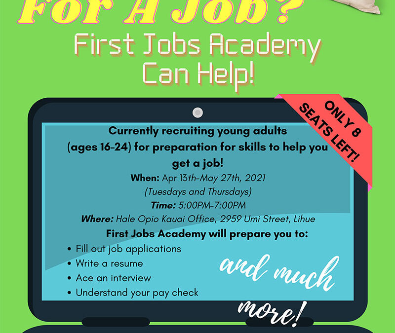 First Jobs Academy 2021