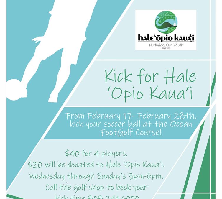 Kick for Hale 'Ōpio Kaua'i 2021